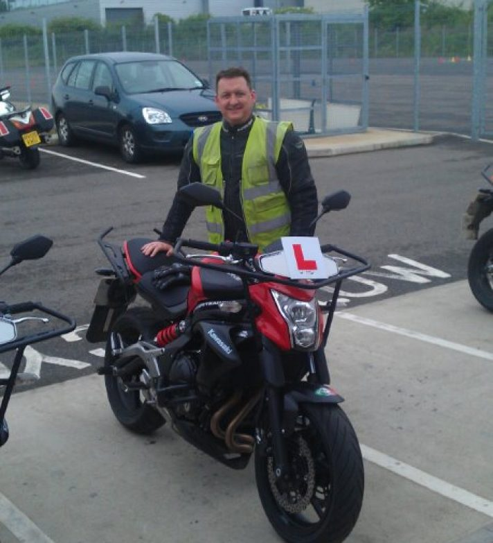 Marc Pelham passed his full test today first time after taking his CBT with us 2 years ago  – well done