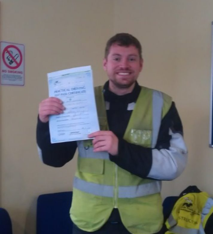 My name is Pete, I've just passed my A2 test first time.
