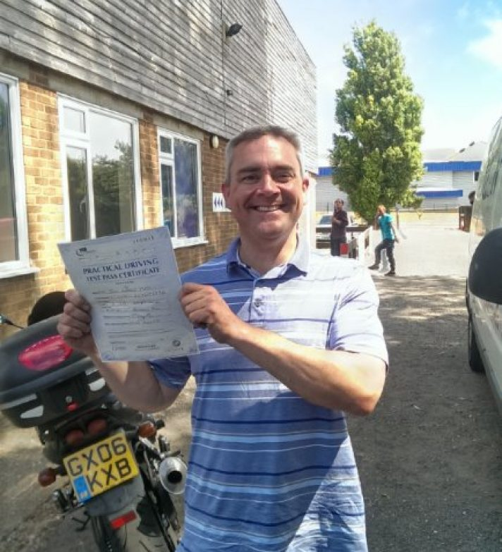 John Kirk, was spotted on his brand new Z1000-SX mere hours after passing his test.