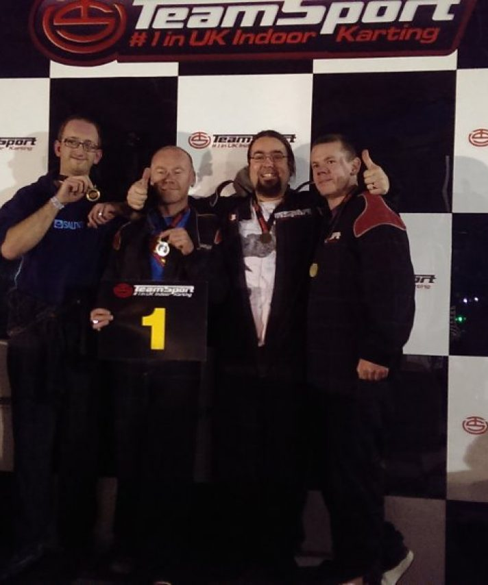 A go karting VICTORY for a couple of our instructors and a couple of our past students at our local karting track Wednesday evening in a show down with other local bike businesses