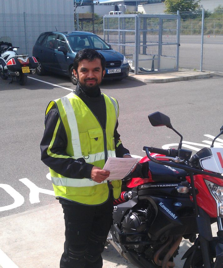 Rameez the Sri Lankan rocket passed today. Well done look forward to seeing you on a ride out!