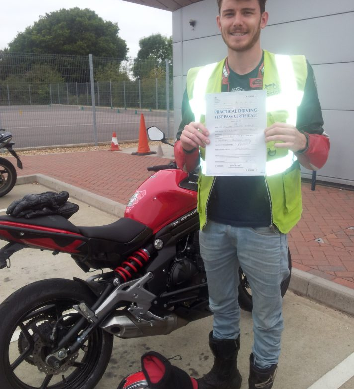 Callum passed today and wants a  cbr 600 when can afford it, borrow dads   R1 for time being…
