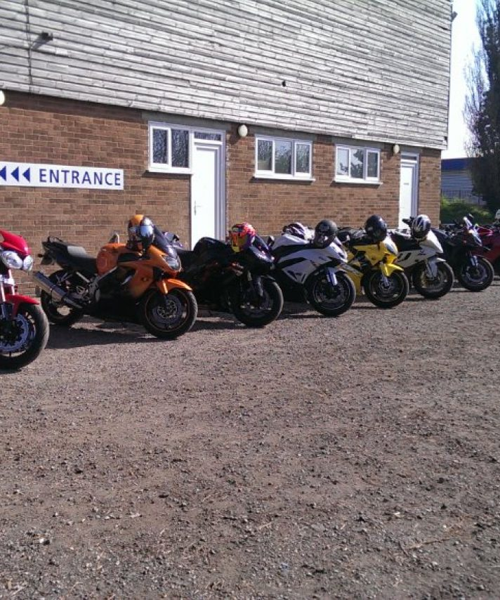 Our instructor Michael who organised a rideout to the  Hastings Mayday Run last weekend
