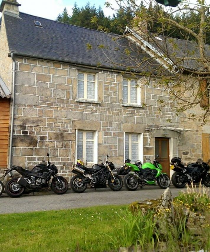 We recently took a group of ex students to our establishment in the Limousin region of france
