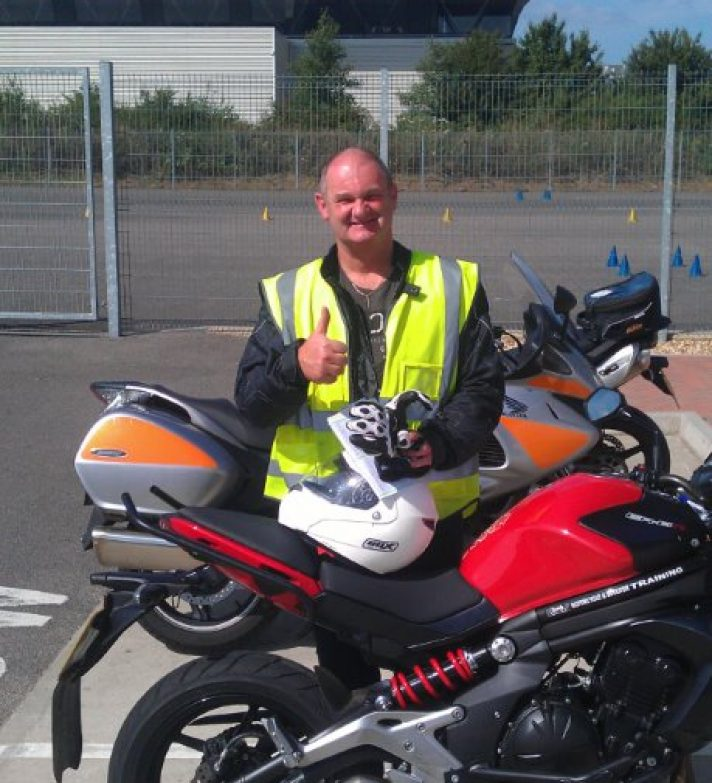 Mike Pollard passed both tests today a well earned result