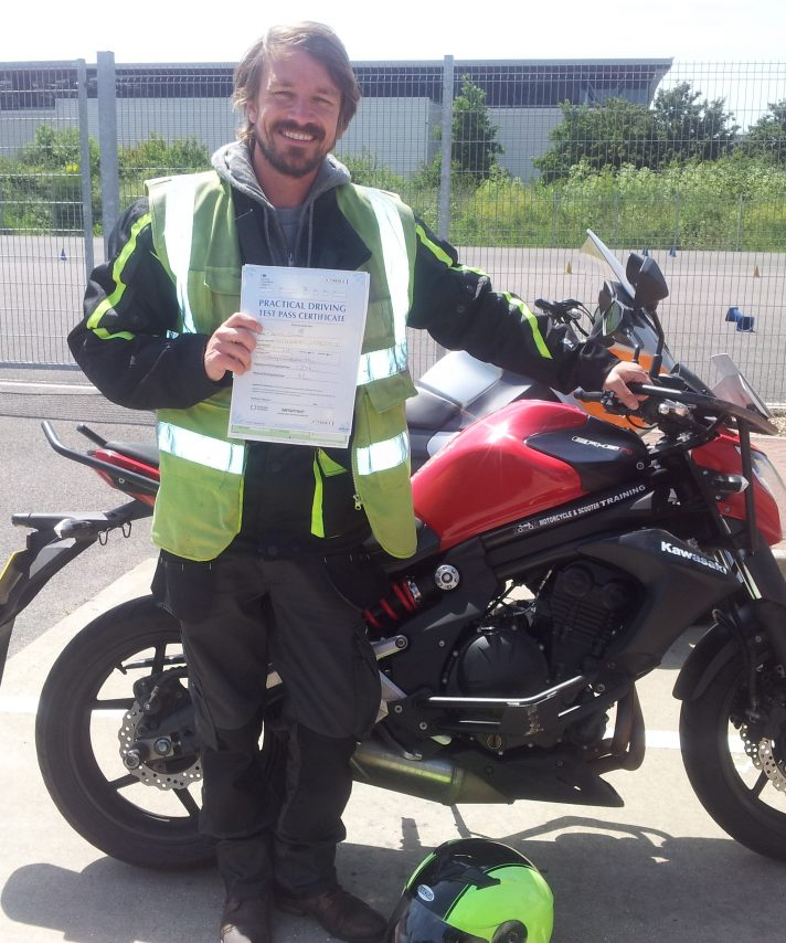 Well done Daniel on passing today